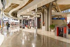 Hall de départ d'aéroport de Menara à Marrakech morocco Photographie stock