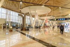 Hall de départ d'aéroport de Menara à Marrakech morocco Images libres de droits