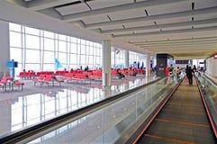 Hall de déviation d'aéroport international de Hong Kong Photographie stock libre de droits