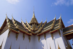 Hall de Dusit Maha Prasat Images libres de droits