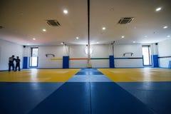Hall de formation de judo photographie stock libre de droits