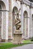 Hall de jeu de boule dans le jardin royal, Prague Images stock