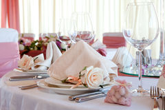 Hall de mariage Photo stock
