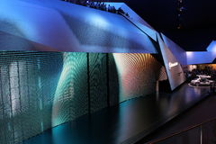 Hall de Mercedes sur 64rd IAA Photo stock