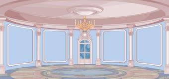 Hall de palais illustration libre de droits