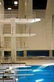 Hall de plongée de natation Photos libres de droits