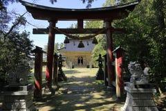 Hall de pri?re de tombeau de Daizen photographie stock