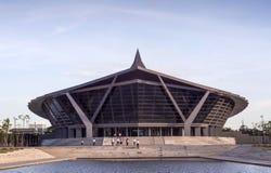 Hall de prince Mahidol à l'université de Mahidol Images libres de droits