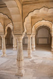 Hall de public en Amer Fort Photographie stock