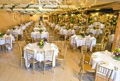 Hall de réception de mariage photo stock
