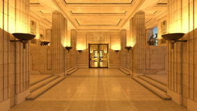 Hall de réception ou d'entrée Images stock