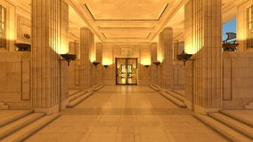 Hall de réception ou d'entrée Photo stock