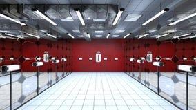 Hall de réception ou d'entrée Photo libre de droits
