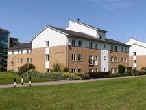 Hall de résidence à l'université de Westminster, campus de herse images stock