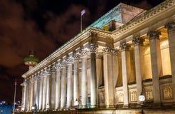 Hall de St George à Liverpool image libre de droits