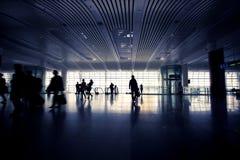 Hall de station à Changhaï Image stock