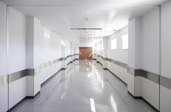 Hall of deep hospital royalty free stock photos