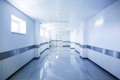 Hall of deep hospital Stock Image