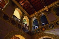 Hall der Ehre mit Herald Collection der Cantacuzin-Dynastie lizenzfreie stockfotografie
