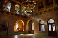 Hall der Ehre mit Herald Collection der Cantacuzin-Dynastie lizenzfreie stockbilder