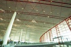 Hall der Peking-Flughafenstation Lizenzfreies Stockbild