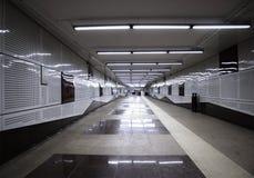 Hall der Untergrundbahn Stockfotografie