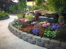 Hall des fleurs chez le comté de Sonoma juste Images stock