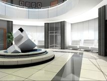 Hall des Hotels Lizenzfreies Stockfoto