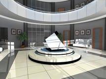 Hall des Hotels Lizenzfreie Stockfotos