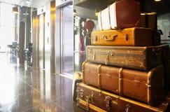 Hall des Hotels Stockfoto