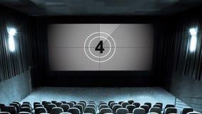 Hall des Kinos stock video