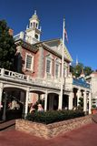 Hall des présidents, Disneyland Images libres de droits