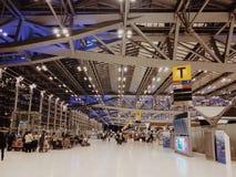 Hall dla pasażerów Zdjęcie Royalty Free