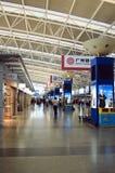 Hall domestique de déviation à l'aéroport de Shenzhen Photos libres de droits