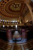 Hall du parlement de Capitolio Photos libres de droits
