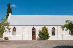 Hall of the Dutch Reformed Church in Laingsburg Stock Photography