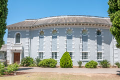 Hall of the Dutch Reformed Church, Noorder-Paarl Stock Photos