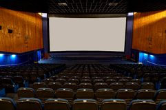 Hall eines Kinos Stockbilder