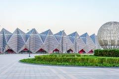 Hall en cristal, Bakou, Azerbaïdjan photographie stock