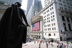 Hall et Wall Street fédéraux Photographie stock libre de droits