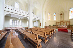 Hall in Evangelical Lutheran Cathedral Stock Photography