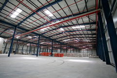 Hall fabrik Royaltyfri Foto