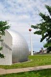 Hall of fame καλαθοσφαίρισης Στοκ Φωτογραφίες
