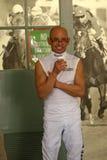 Hall of Fame-Jockey Mike Smith Lizenzfreie Stockfotos
