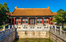 The Hall of Finest Jade at Summer Palace in Beijing. China Stock Photo