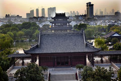 Hall Four Auspicious Merits Suzhou China Royalty Free Stock Image