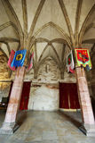 hall gothique photo stock