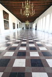 Hall grand de château de Kronborg, Danemark images stock