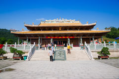 Hall of Great Achievements in Confucian temple Stock Photos