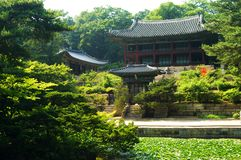 The Hall of Harmonic Universe. In Seoul, Korea royalty free stock photos